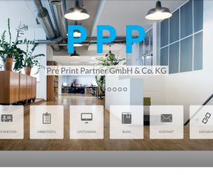 Pre Print Partner | Website Relaunch